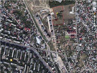 Vanzare teren 5500 mp cu PUZ aprobat S+P+ 7/9 etaje zona Tatarasi Aeroport