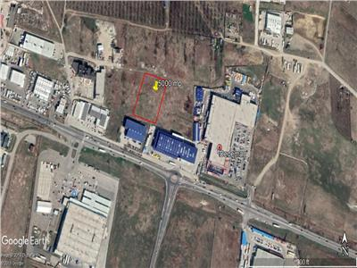 5000 mp ideal pentru investitie sau dezvoltare industriala in Iasi ,zona Elvila - Dedeman Valea Lupuilui