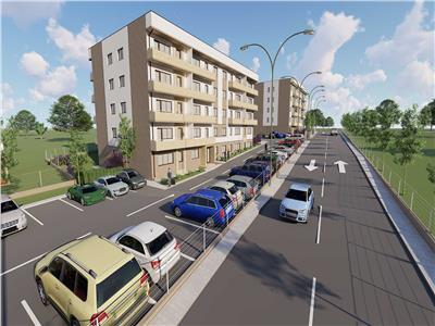 Comision 0% Bloc nou, apartament 2 camere decomandat 47.65 mp util, la 150 m de statia de autobuz.