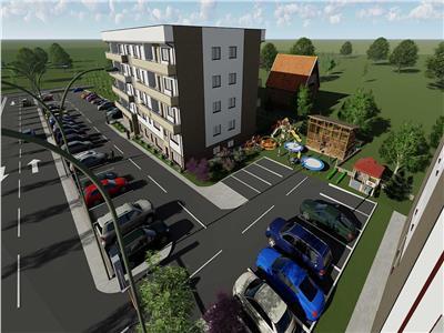 Comision 0% Bloc nou, apartament 2 camere decomandat 45.70mp util, la 150 m de mijloacele de transport.