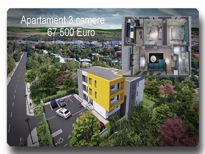 Discount la plata cash! Bloc nou Galata, apartament 3 camere decomandat la 2 minute de belvedere