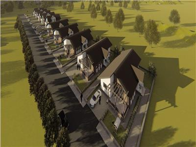 Comision 0%  Casa single moderna P+M in Breazu  Padurea Marzesti, zona rezidentiala amenajata complet