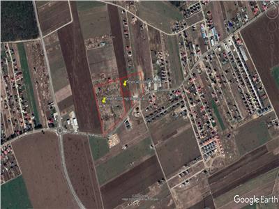 Vanzare teren intravilan 10253 mp zona Miroslava