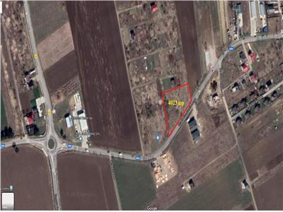 Vanzare teren intravilan 4023 mp zona Miroslava