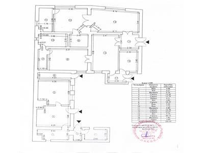 Casa 6 camere, 166 mp, teren 435 mp, Centru - Teatrul National