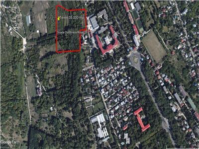 Vanzare teren intravilan 35.000 mp Copou, Dumbrava Rosie