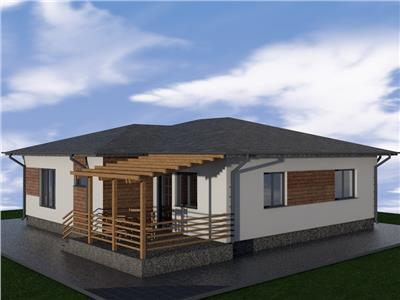 Casa single - parter moderne in cel mai nou cartier din Aroneanu