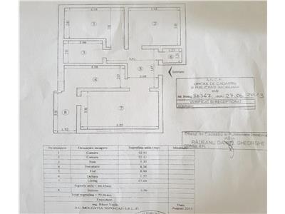 Apartament cu 3 camere Cug   Pepinierei etaj 1, renovat complet
