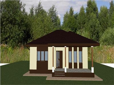 Casa single Breazu plan parter 77 mp util 402 mp teren