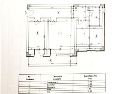 Ocazie unica! Apartament 2 camere decomandat etajul 2/3 60mp la cheie