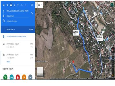 teren, 900 mp, pentru constructie casa in  Iasi zona  Bucium