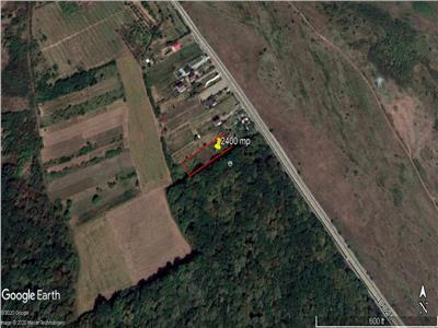 Teren 2400 mp ,intravilan si extravilan   Miroslava , sat Uricani,langa soseaua de centura