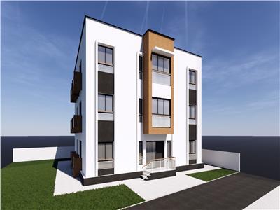 De vanzare,Apartament 2 camere, 40.2mp Utili + 2.2mp Balcon, Hlincea