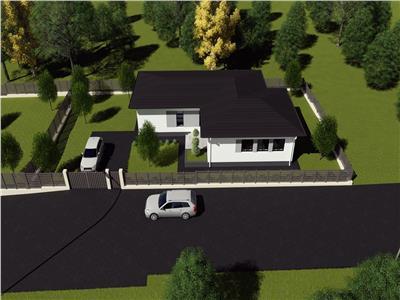Casa, Valea Adanca, model parter, 127 mp, 500 mp teren