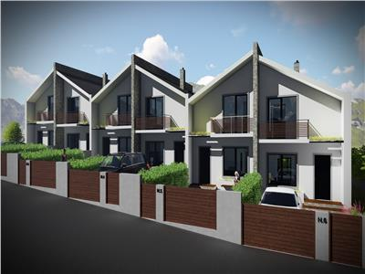 Proiect deosebit, case insiruite din caramida, Bucium  Visani