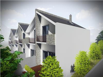 Proiect deosebit, case insiruite din caramida, Bucium - Visani
