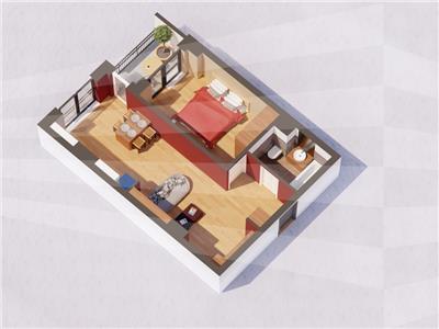 Ap 2 camere, bloc nou, 47.5 mp, Centru  Gara(Str. Arcu)
