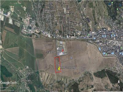teren  23700 mp langa Carrefour Era